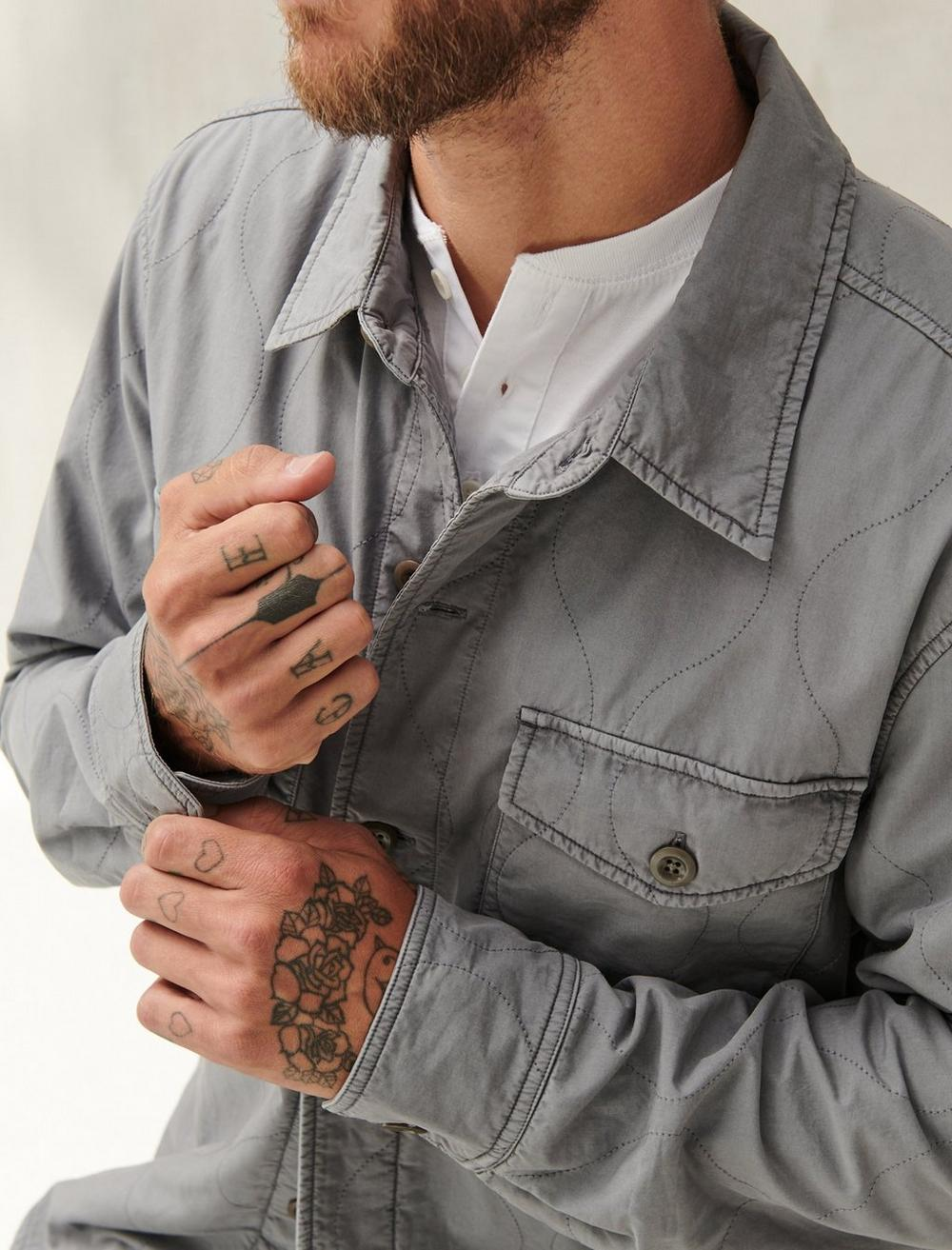 QUILTED SHIRT JACKET, image 5