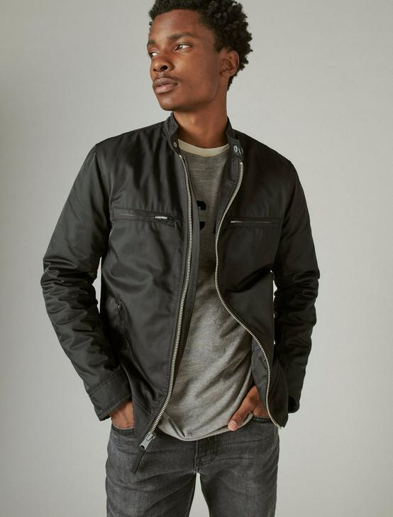 NYLON BONNEVILLE JACKET, BLACK, productTileDesktop