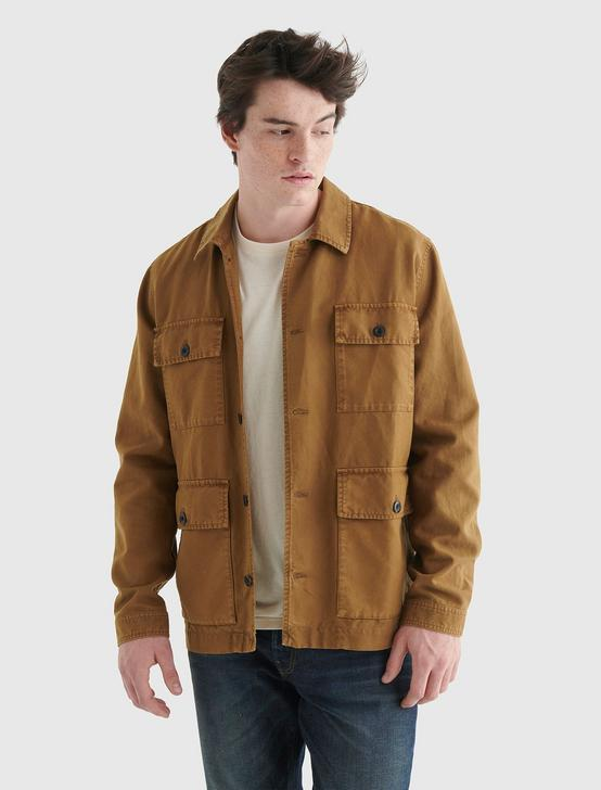 WORKWEAR JACKET, DULL GOLD, productTileDesktop