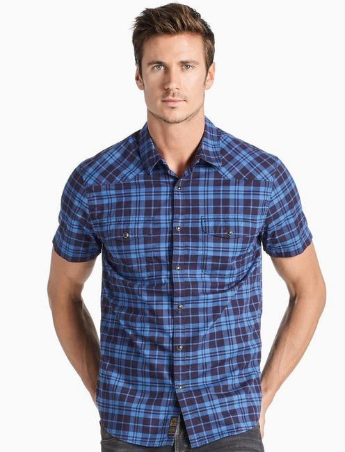 Saturday Stretch Poplin Western Shirt,
