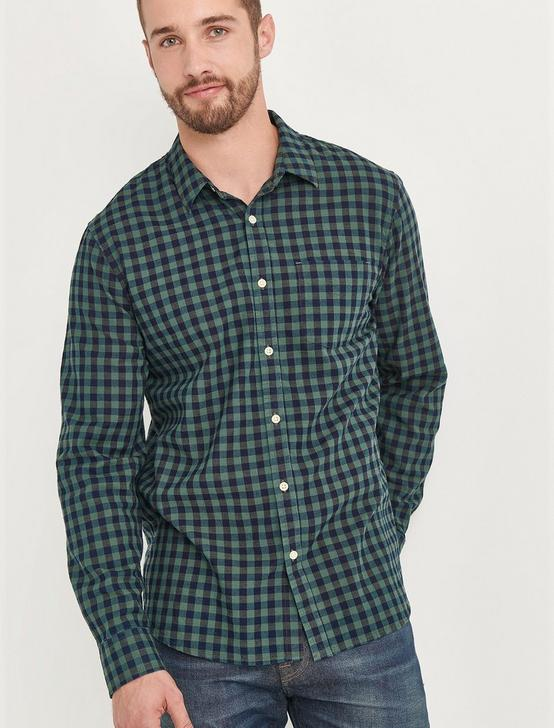 BALLONA SHIRT, BLUE/GREEN, productTileDesktop