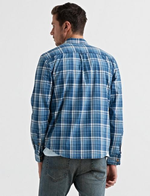 Clean 2 Pocket Workwear, BLUE PLAID
