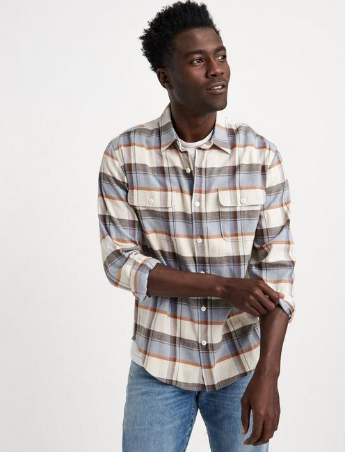 SATURDAY STRETCH SLIM LIGHTWEIGHT FLANNEL,