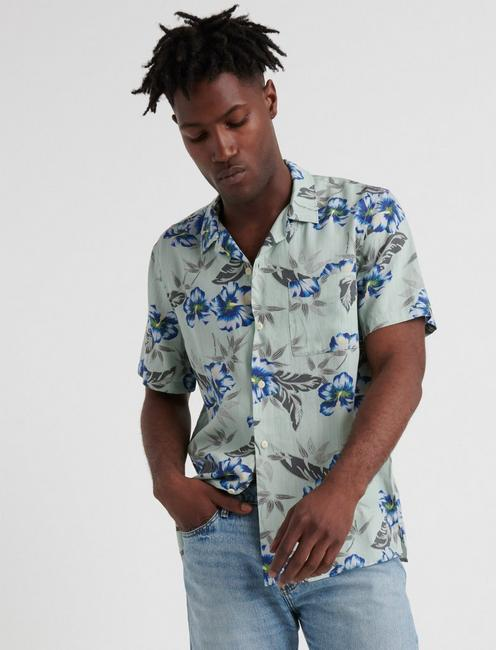 Maui Tencel Club Collar Shirt
