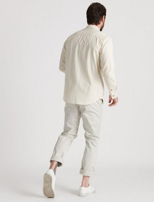 THE CHAMBRAY WORK SHIRT, NATURAL