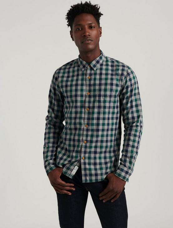 BALLONA PLAID SHIRT, BLUE/GREEN, productTileDesktop