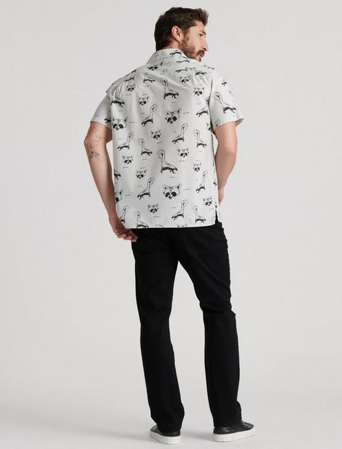 FILTHY ANIMALS SHIRT, BLACK/WHITE