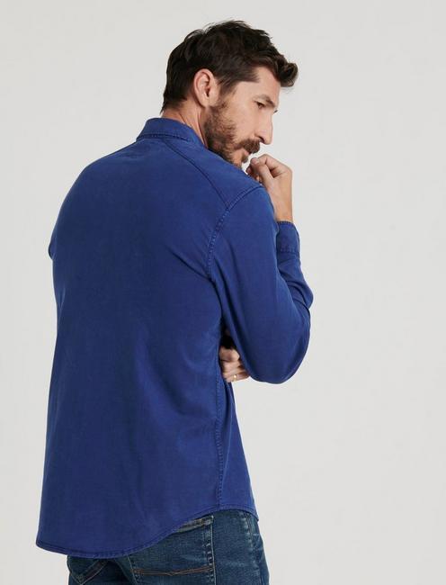 MARTIN WESTERN SHIRT, #458 BLUE