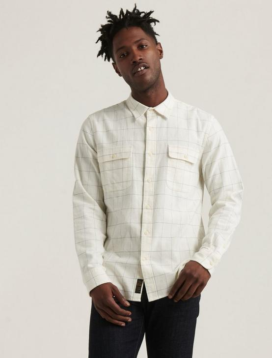 HUMBOLDT WORKWEAR SHIRT, WHITE PLAID MULTI, productTileDesktop