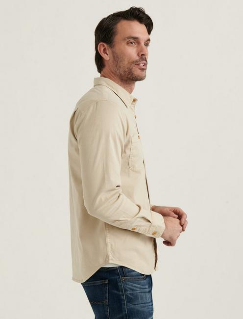 TENCEL MASON WORKWEAR SHIRT, MOONSTRUCK