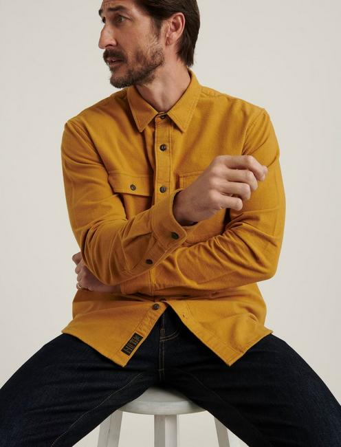 CHAMOIS WORKWEAR SHIRT, GOLD