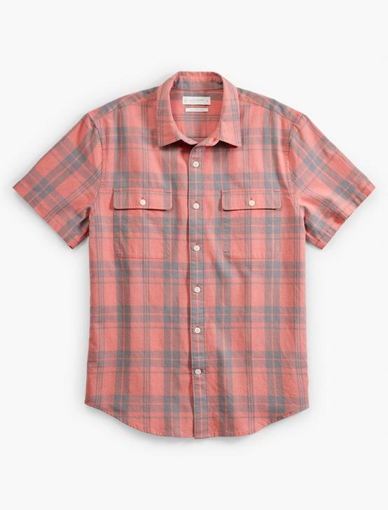 SHORT SLEEVE HUMBOLT WORKWEAR, RED PLAID, productTileDesktop