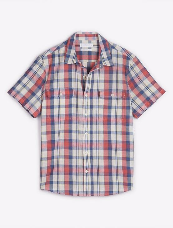 HUMBOLDT WORKWEAR SHIRT, PINK PLAID, productTileDesktop