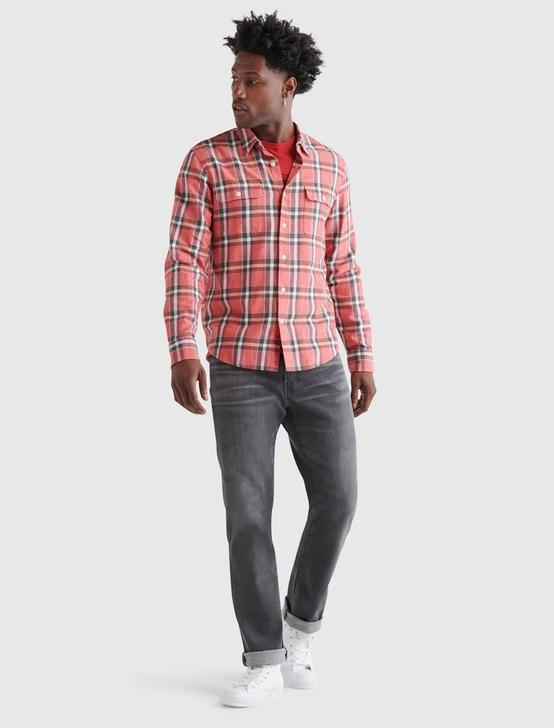 LONG SLEEVE HUMBOLDT WORKWEAR, RED PLAID, productTileDesktop