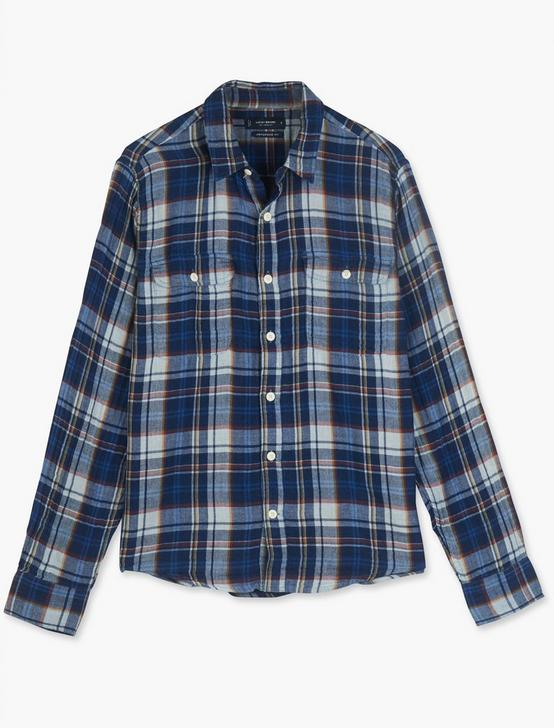 HUMBOLDT INDIGO PLAID WORKWEAR SHIRT, INDIGO PLAID, productTileDesktop