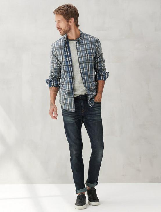 REDWOOD WORKWEAR, INDIGO PLAID, productTileDesktop