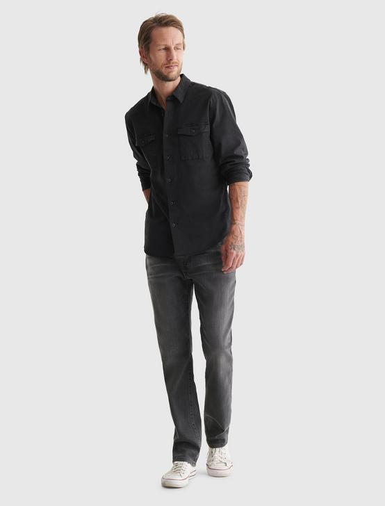 MONROE WORKWEAR SHIRT, WASHED BLACK, productTileDesktop