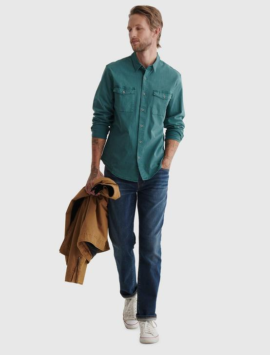MONROE WORKWEAR SHIRT, SAGEBUSH GREEN, productTileDesktop