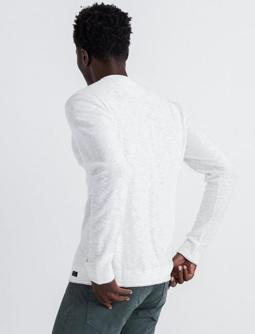 WELTERWEIGHT V-NECK, MARSHMALLOW