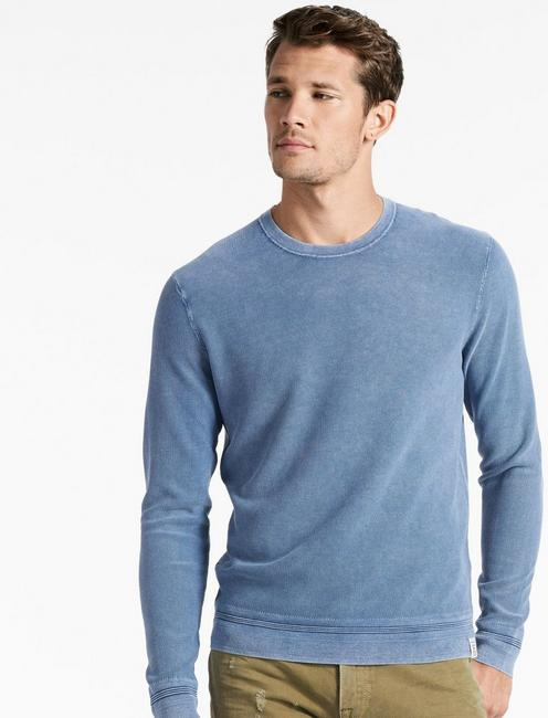 WASHED CREW SWEATER,