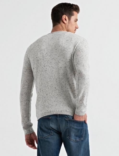 CASHMERE COLORADO CROSS, HEATHER GREY