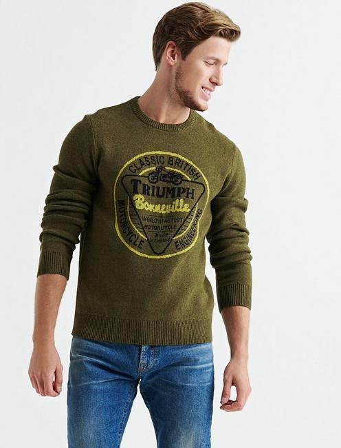 Triumph Bonneville Sweater,