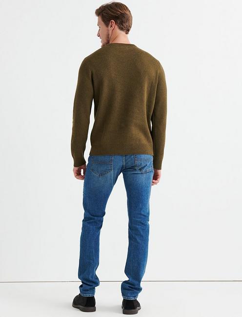 Triumph Bonneville Sweater, HEATHER OLIVE