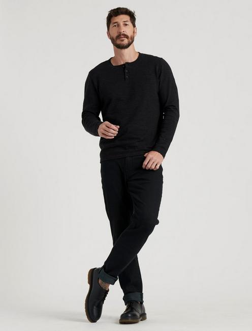 WELTERWEIGHT HENLEY, HEATHER BLACK