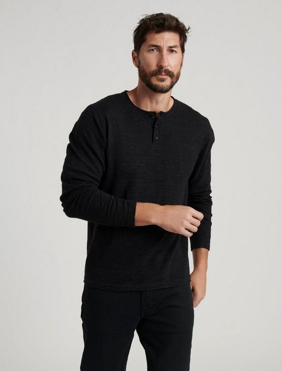 WELTERWEIGHT HENLEY, HEATHER BLACK, productTileDesktop