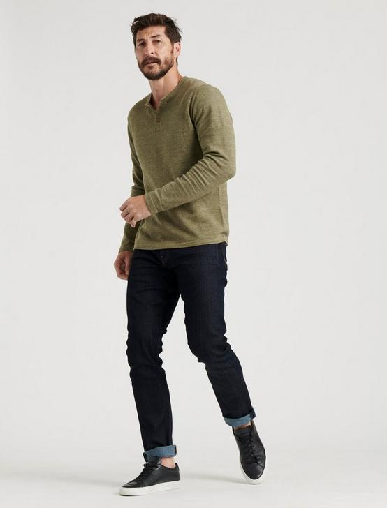 WELTERWEIGHT HENLEY, HEATHER OLIVE, productTileDesktop