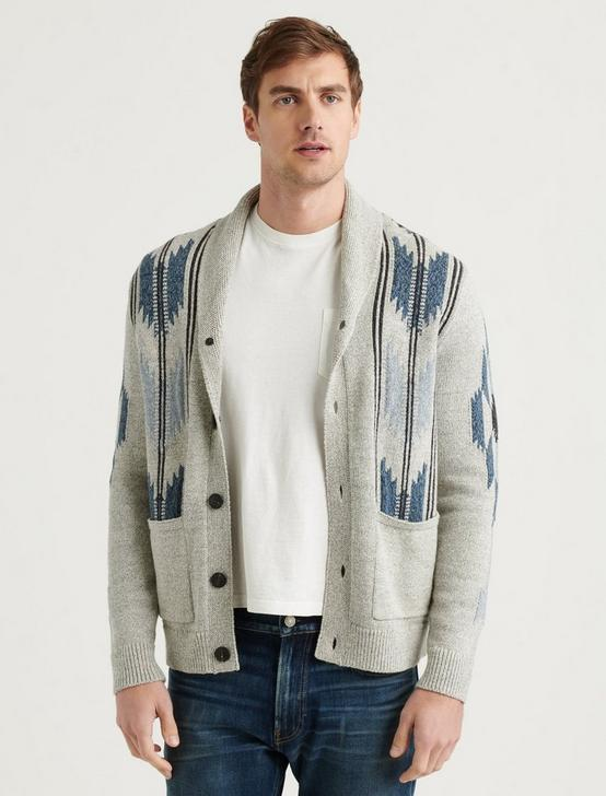 CHIMAYO SHAWL CARDIGAN, MULTI, productTileDesktop