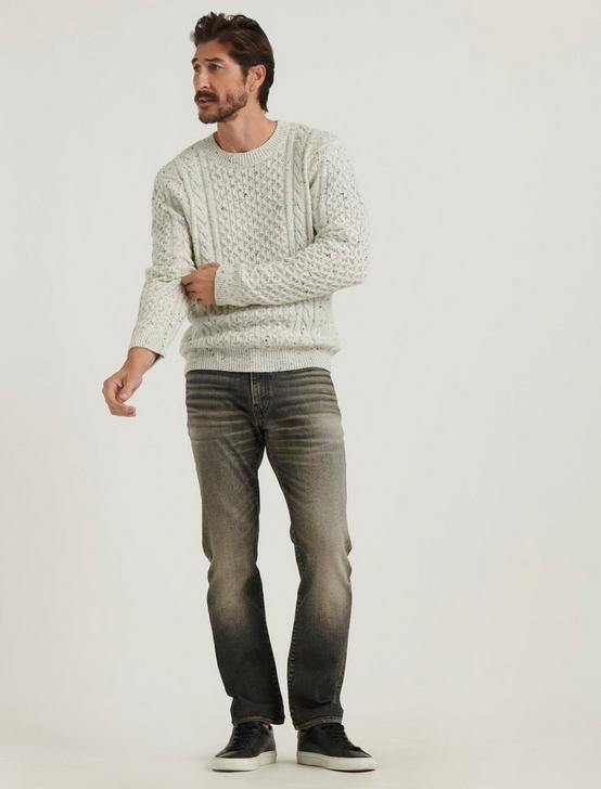 NEP CABLE PULLOVER, CREAM, productTileDesktop