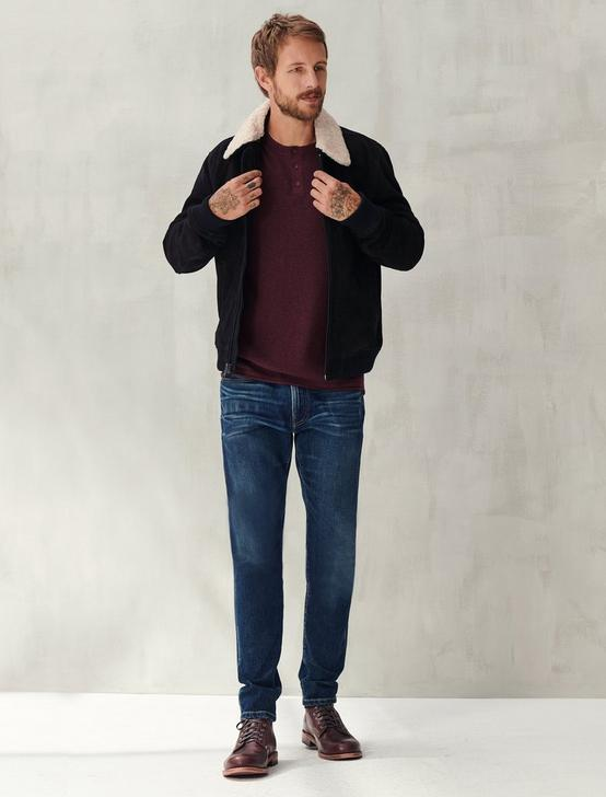WELTERWEIGHT HENLEY, HEATHER BURGUNDY, productTileDesktop