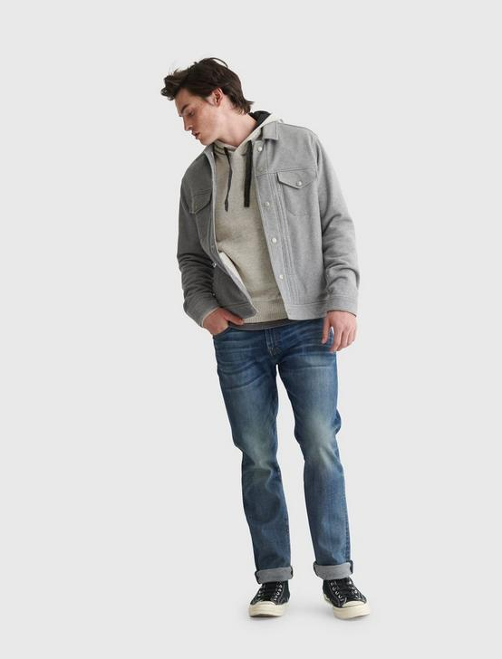 WELTER WEIGHT HOODIE, HEATHER GREY, productTileDesktop