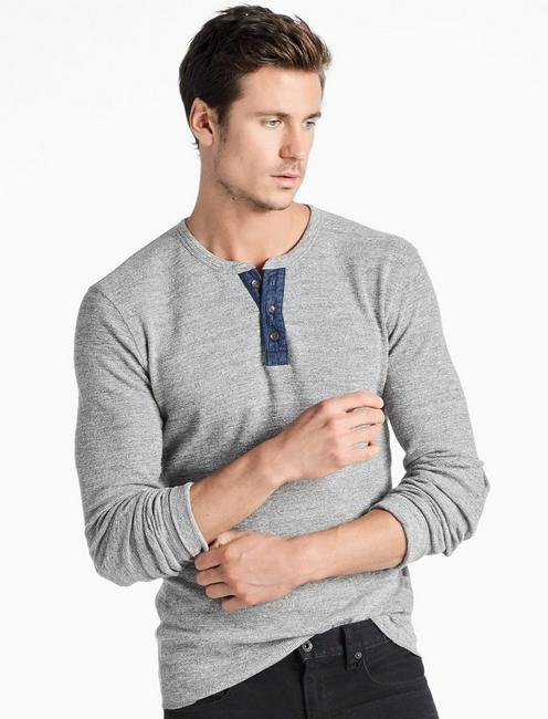 LIVED IN THERMAL HENLEY,
