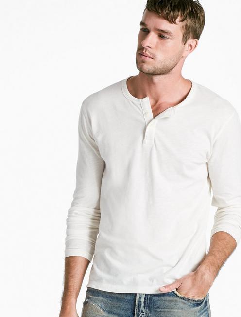 2ef59b53b1a Long Sleeve Henley | Lucky Brand