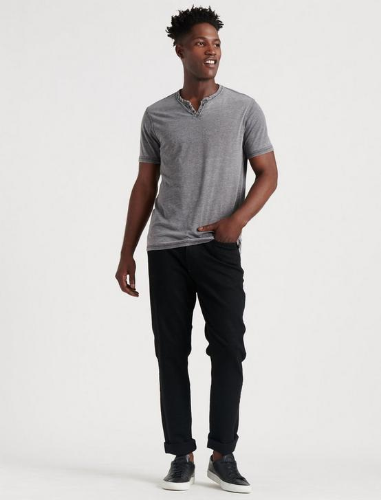 VENICE BURNOUT NOTCH TEE, BLACK MOUNTAIN, productTileDesktop