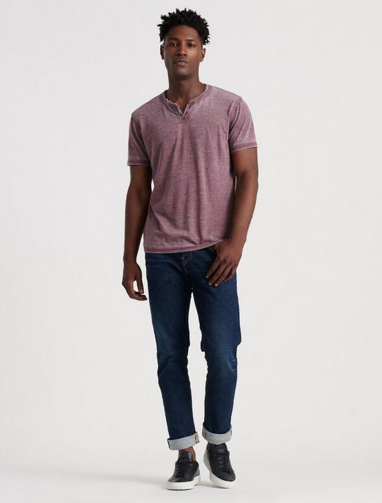 VENICE BURNOUT NOTCH TEE, PORT ROYALE, productTileDesktop