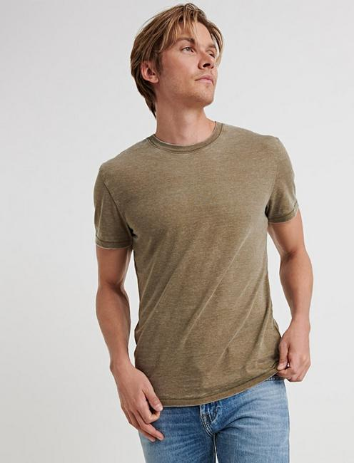 VENICE BURNOUT CREW, DARK OLIVE