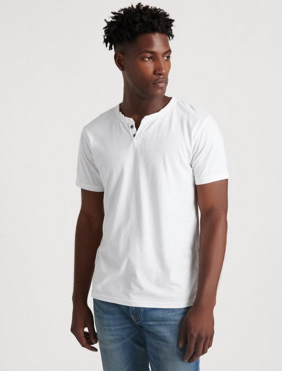 VENICE BURNOUT NOTCH TEE, BRIGHT WHITE, productTileDesktop