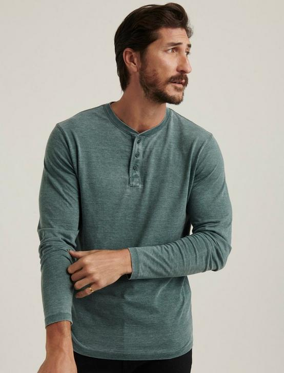 VENICE BURNOUT BUTTON HENLEY, SYCAMORE, productTileDesktop