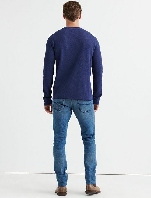 STRONG BOY FLECK THERMAL CREW, NAVY