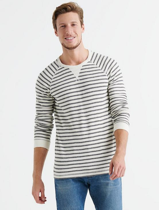 STRIPED THERMAL CREW, MULTI, productTileDesktop
