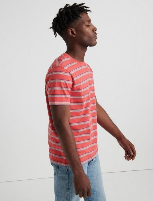 SUNSET STRIPE CREW, MULTI