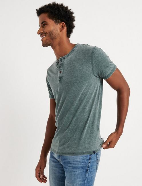 Venice Burnout Henley Shirt,