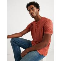 Deals on Venice Burnout Henley Shirt
