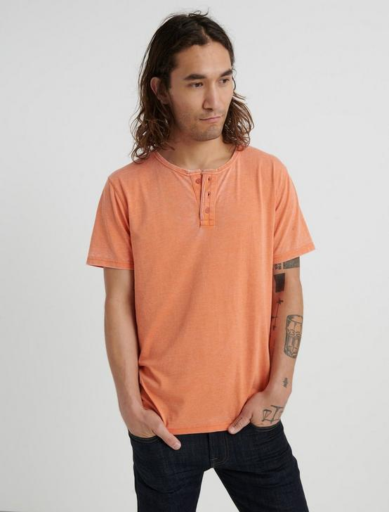 VENICE BURNOUT HENLEY, JAFFA ORANGE, productTileDesktop