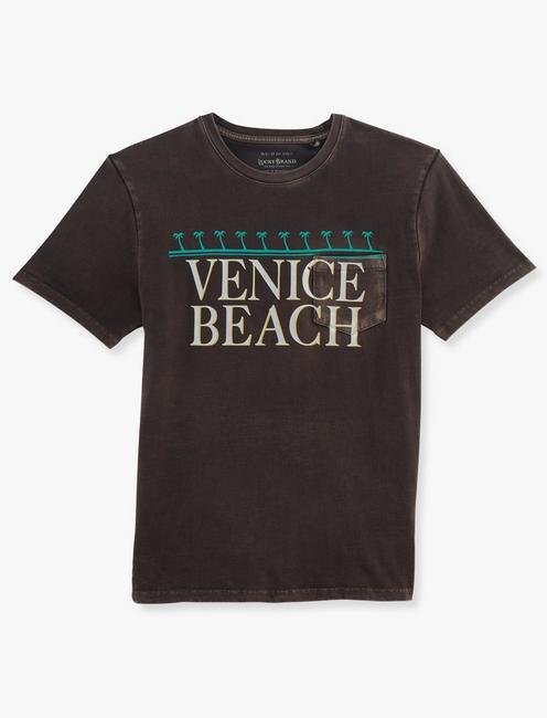 VENICE BEACH TEE, RAVEN