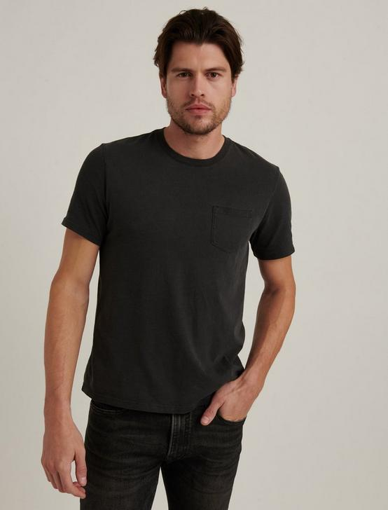 SUNSET POCKET TEE, JET BLACK, productTileDesktop