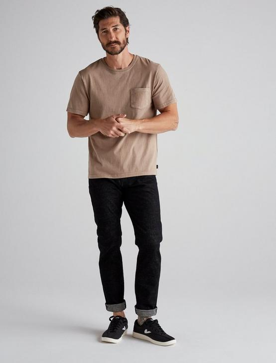 SUNSET POCKET TEE, WALNUT, productTileDesktop